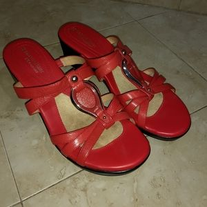 Womens Naturalizer N5 Comfort Red Leather Size 8.5